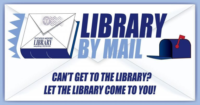Library by Mail. Can't get to the library? Let the library come to you.