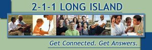 2-1-1 Long Island. Get Connected. Get Answers.
