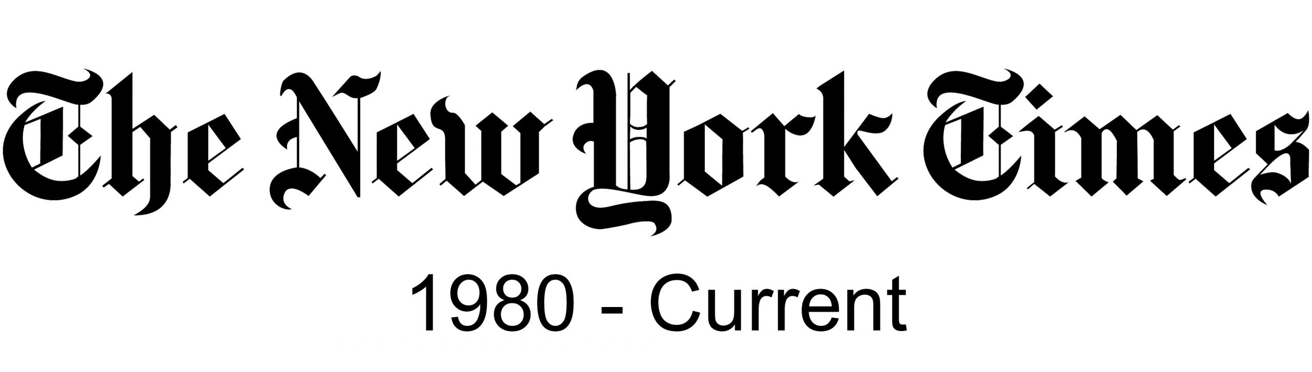 New York Times, 1980-current