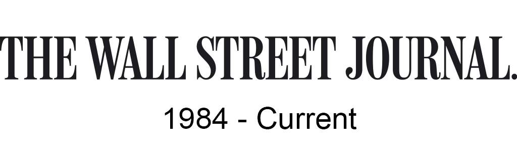 The Wall Street Journal, 1984-current