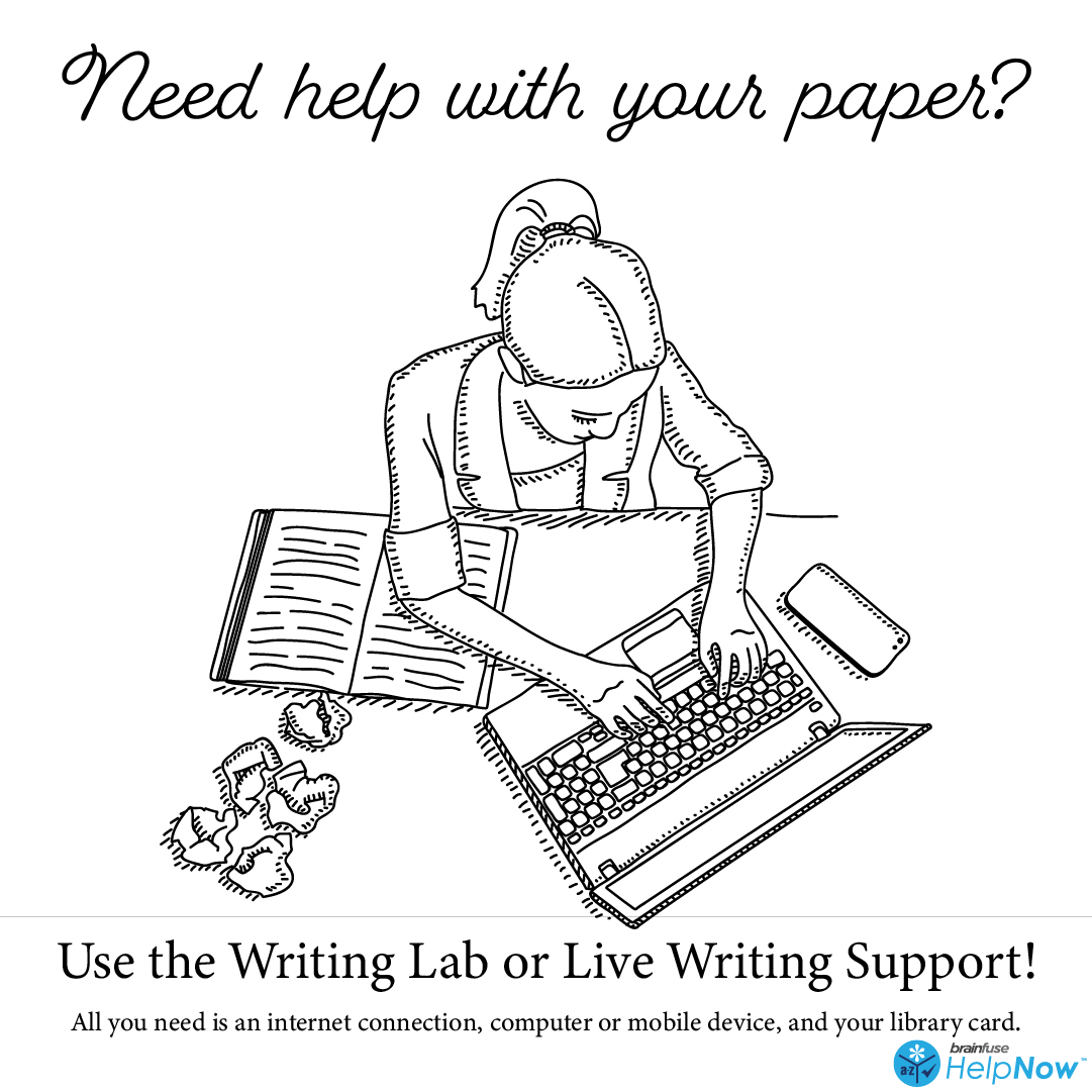 Need help with your paper? Use the writing lab or live writing support